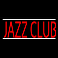 Red Jazz Club Neon Skilt