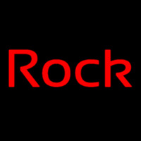 Red Rock Cursive 2 Neon Skilt