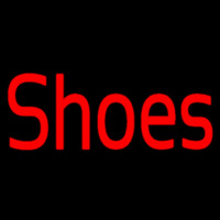 Red Shoes Neon Skilt