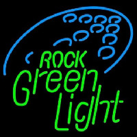 Rolling Rock Green Light Neon Skilt