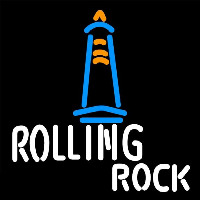 Rolling Rock Lighthouse Lounge Beer Sign Neon Skilt