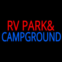 Rv Park And Campground Neon Skilt