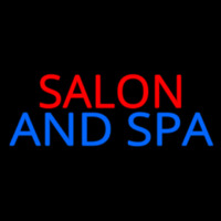 Salon And Spa Neon Skilt