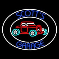 Scotts Garage Neon Skilt