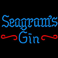 Seagrams 7 Promotional Gin Beer Sign Neon Skilt