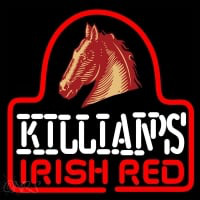 Sgeorge Killians Irish Red Horse Head Beer Sign Neon Skilt