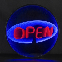 Shop Open 3D Infinity LED Neon Sign