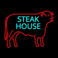 Steakhouse Logo Neon Skilt