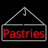 Stylish Pastries Neon Skilt
