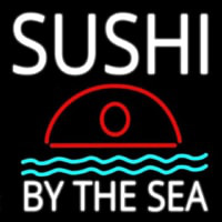 Sushi By The Sea Neon Skilt