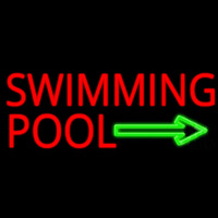 Swimming Pool Neon Skilt