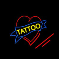 Tattoo Inside Heart Neon Skilt