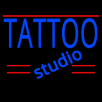 Tattoo Studio Neon Skilt