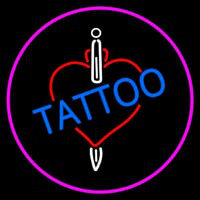 Tattoos Inside Heart Neon Skilt