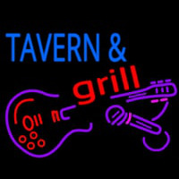 Tavern And Grill Guitar Neon Skilt