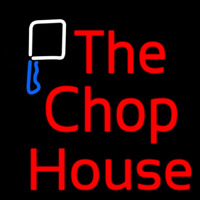 The Chophouse Double Stroke Neon Skilt