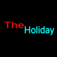 The Holiday Neon Skilt