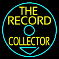 The Record Collector Neon Skilt