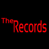 The Records 1 Neon Skilt