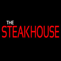 The Steakhouse Neon Skilt