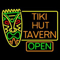 Tiki Hut Tavern Bar Neon Skilt