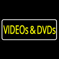 Videos And Dvds Neon Skilt