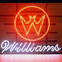 Williams Neon Skilt