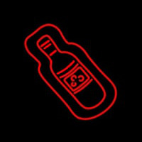 Wine Bottle Neon Skilt