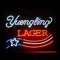 YUENGLING LAGER BEER Neon Skilt
