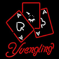 Yuengling Ace And Poker Neon Skilt