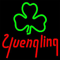 Yuengling Green Clover Beer Sign Neon Skilt