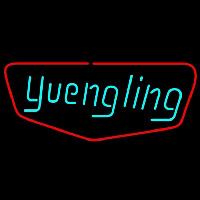 Yuengling Red Border Beer Sign Neon Skilt